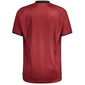 Maloja PalinM. Multi 1/2 Shortsleeve Multisport Jersey Men, red monk